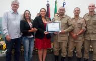 Câmara de Patos homenageia Polícias Militar e Civil, Corpo de Bombeiros e Rotary