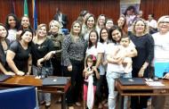Banco de Leite de Patos na Sessão Especial em comemoração aos 30 anos do Programa de Aleitamento Materno