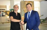 Aberta exposição do pintor Murilo Santos no Fórum Miguel Sátiro em Patos
