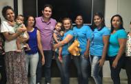 Hugo Motta participa de reunião com grupo de mães de crianças autistas