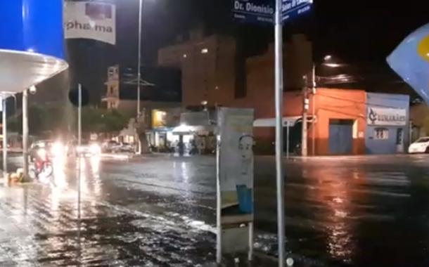 Chove em Patos na noite de hoje