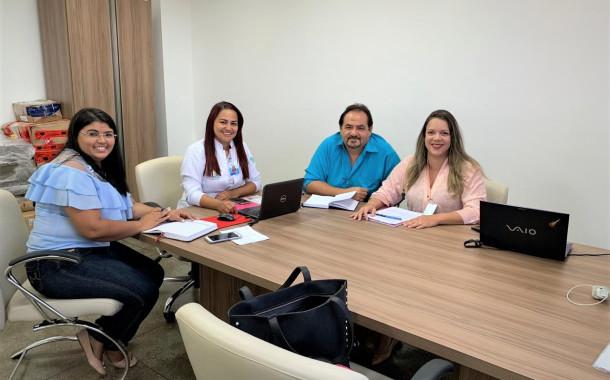 Diretoria do Hospital do Bem se reúne com representantes  da SMS de Patos para tratar de regulação de pacientes