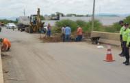 Prefeitura inicia recuperação asfáltica na Alça Sudeste