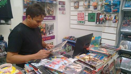 Um espaço voltado para os fãs de quadrinhos em Patos