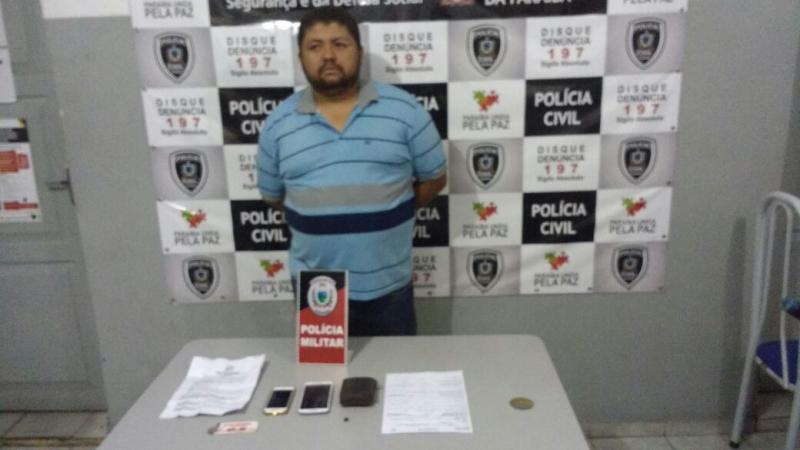 ROTAM prende pernambucano acusado de assalto em Patos