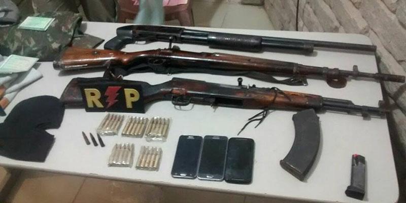 Polícia troca tiros com ladrões de banco em Remígio. Dois são presos