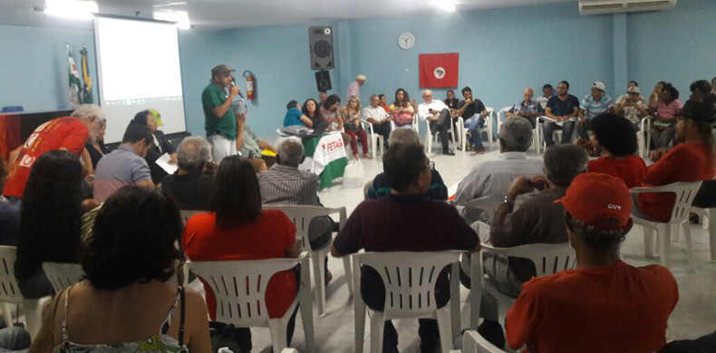 CTB Paraíba mobiliza sindicatos para o dia 28