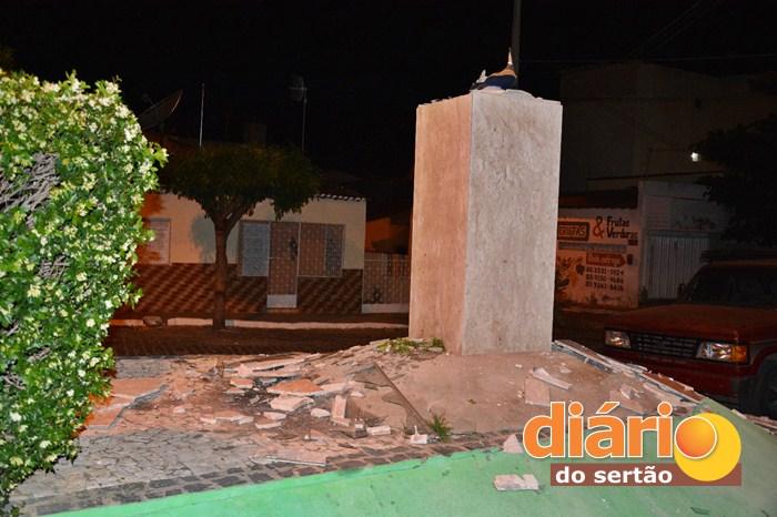 Imagem de Nossa Senhora Aparecida explode misteriosamente e deixa moradores assustados na cidade de Cajazeiras