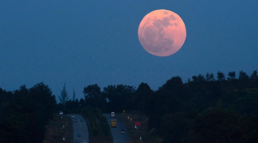 31 de janeiro terá Superlua, Lua Azul e Lua de Sangue na mesma noite