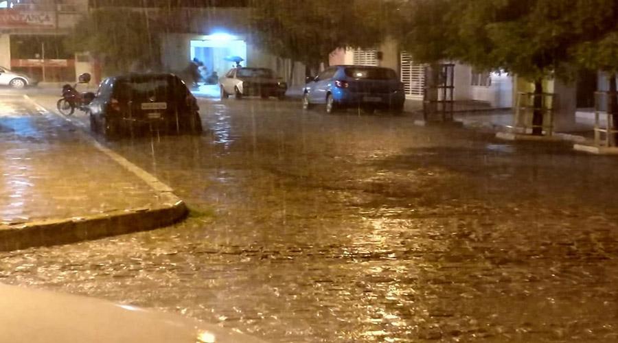 Índices das chuvas de ontem para hoje em quase 40 municípios paraibanos