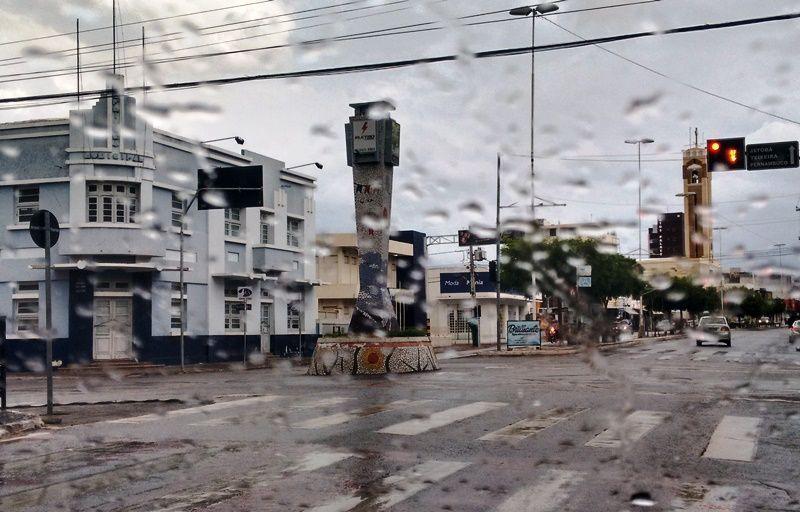 Choveu em Patos e região na noite de ontem e na madrugada de hoje