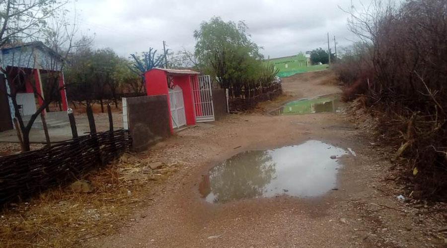 Chove bem em vários municípios paraibanos. Em Bonito de Santa Fé choveu 78 mm