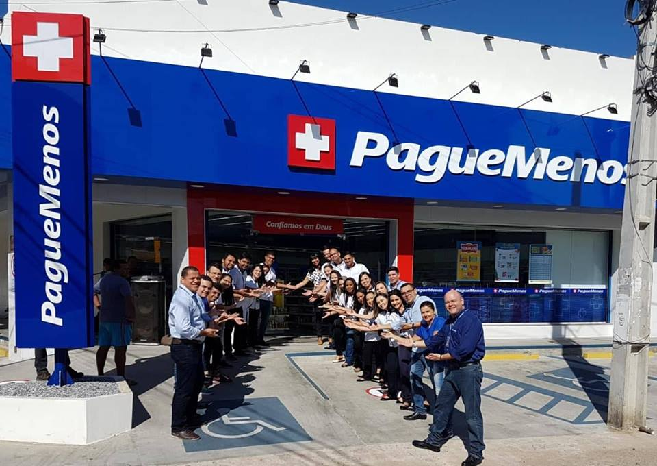 Farmácia Pague Menos inaugura sua 3ª unidade em Patos
