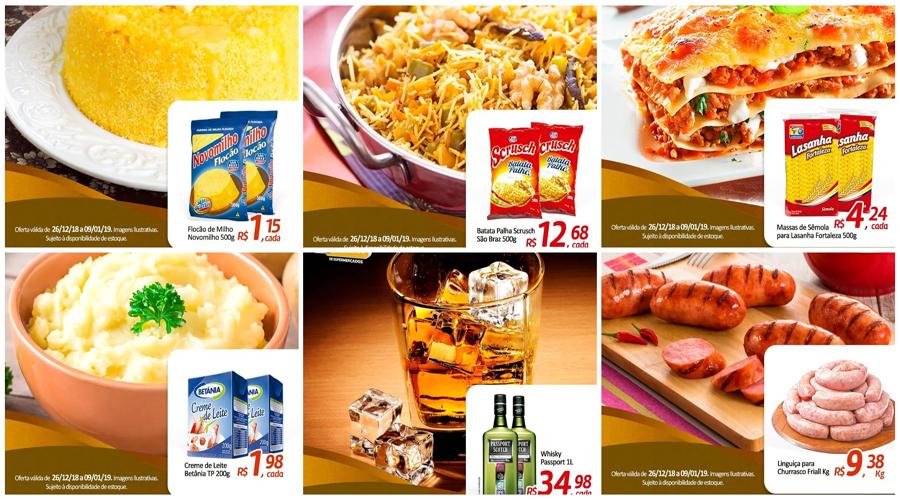 Aproveite as promoções do Supermercado Foguete, em Patos
