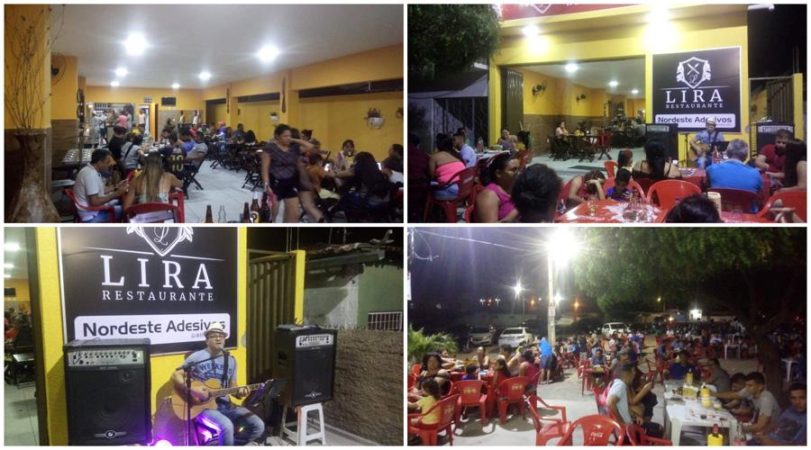Lira Restaurante é inaugurado com muito sucesso em Patos