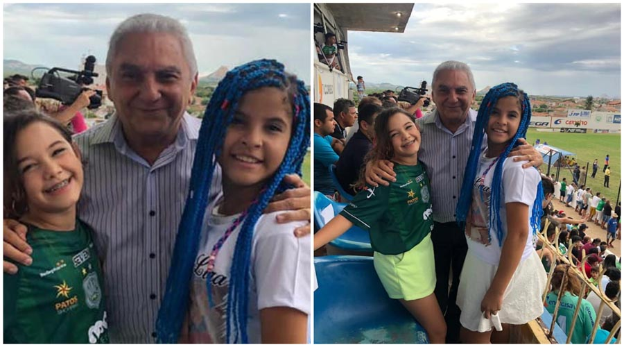 Helô e Lívia são bastante aplaudidas no José Cavalcanti e posam com o prefeito Bonifácio Rocha