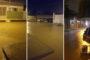 Chove forte em Monteiro e moradores pegam peixes no meio da rua
