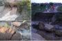 Maior cheia dos últimos anos no Rio Espinharas, em Patos. Vídeo