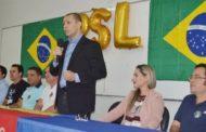 Presidente do PSL de Patos diz que deixará a legenda caso Dinaldo Wanderley assuma o partido