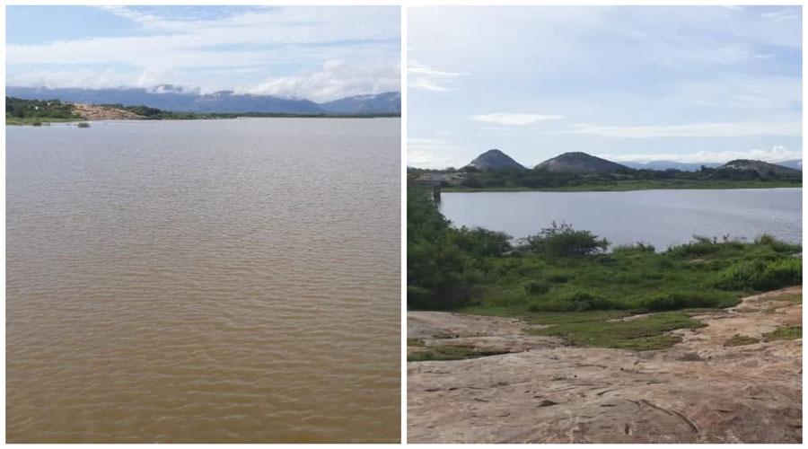 Barragem da Farinha está com 85,42% e o Açude do Jatobá com 26,97% de sua capacidade