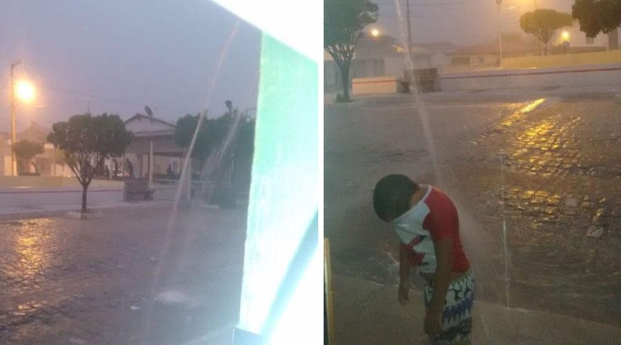 Noite de muita chuva em Passagem