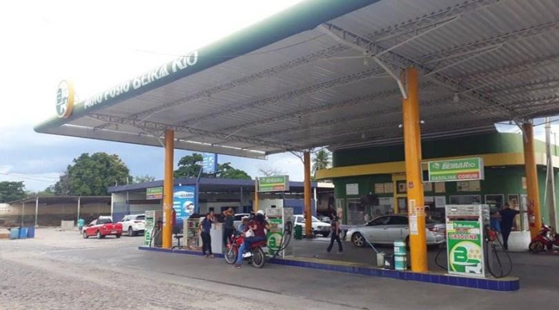Posto Beira Rio, em Patos, com gasolina a R$ 4,05