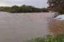 Muita água entrando na Barragem da Capoeira
