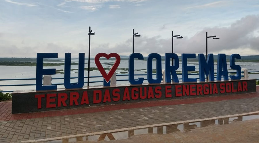 Mirante de Coremas será inaugurado no sábado para marcar o aniversário da cidade