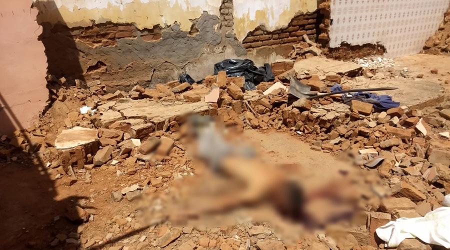 Pedreiro morre esmagado após muro de casa cair por cima dele em Juazeirinho