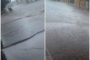 Moradores pedem conserto de esgoto estourado no Monte Castelo, em Patos