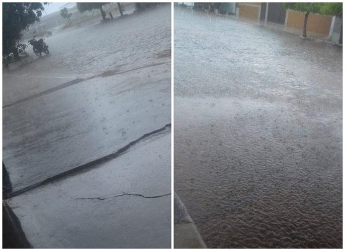 Tarde de chuva em São José de Espinharas