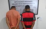 PM apreende 150 papelotes de cocaína e prende acusados, em Patos