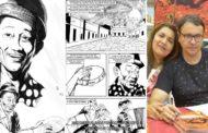 Desenhista faz quadrinhos em homenagem a Jackson do Pandeiro e planeja exposições em Patos