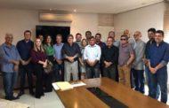Sales Júnior participa de reunião com prefeitos da região e o governador João Azevedo