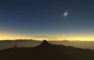 Eclipse solar será visível de forma parcial no Brasil