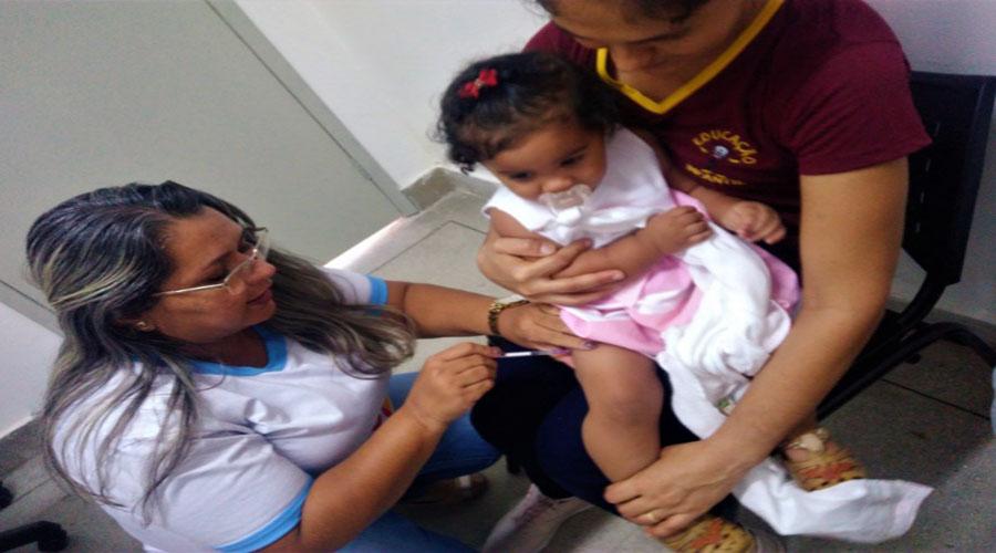 Quixaba atinge 99% da meta de vacinação contra a gripe em 2019