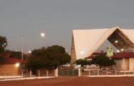 Registro do eclipse parcial da Lua em Patos