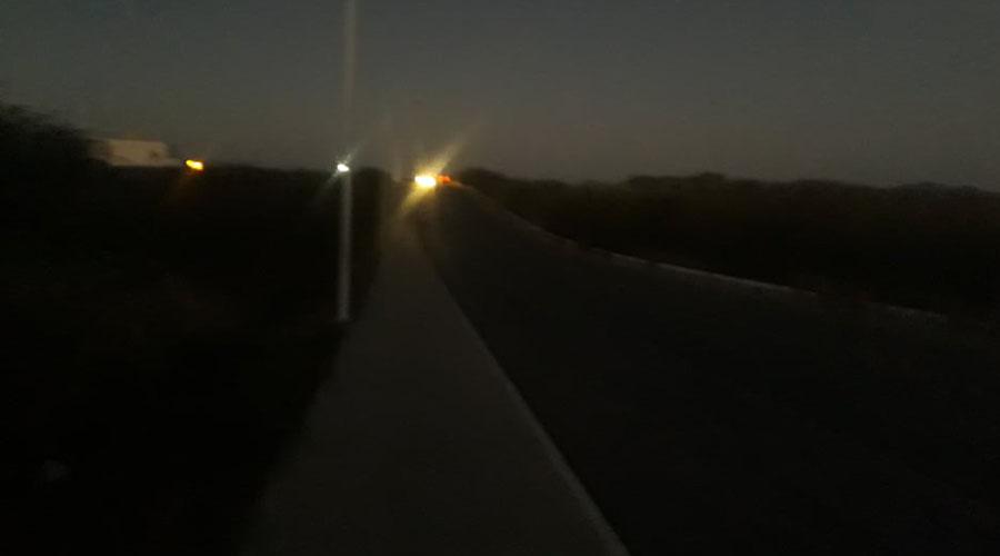 Prefeitura diz que iluminação da Alça Sudeste já foi normalizada