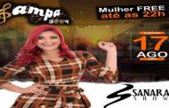 Sanara Show se apresenta no Sampa Beer neste sábado