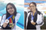 Aluna do Fera Geo ganha medalha de prata nos 100 metros livres de natação em João Pessoa