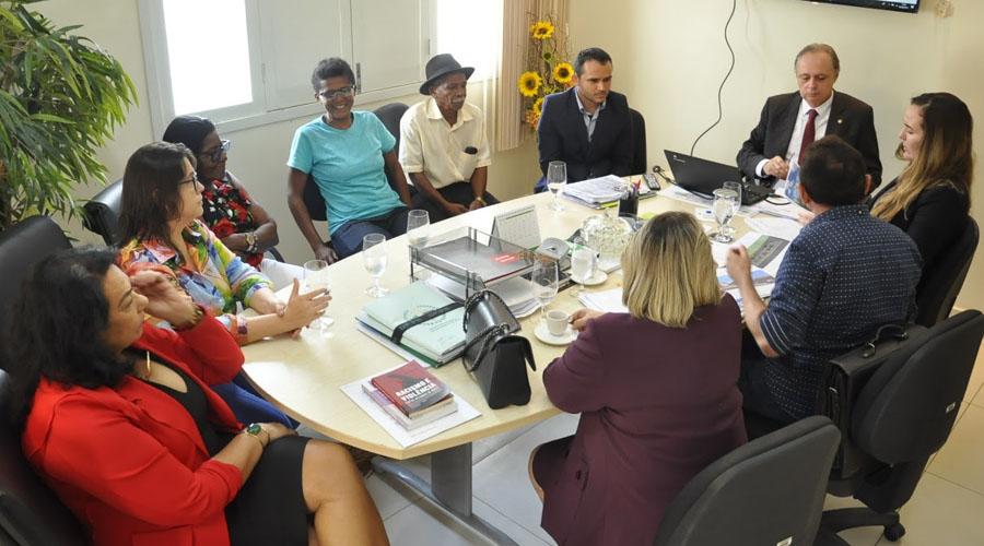 Prefeitura de Coremas se compromete com demandas dos quilombolas