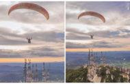 Bela imagem registrada no Pico do Jabre, em Matureia