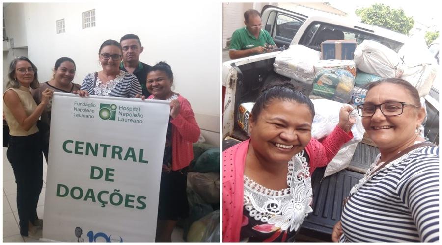 Em São Mamede, mulheres fazem campanha e ajudam o Hospital Napoleão Laureano