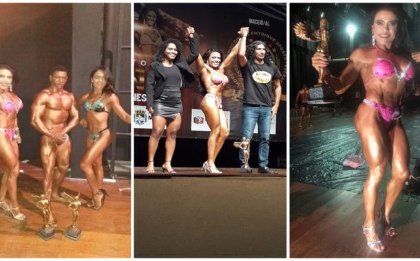 Patoense é campeã nacional em competição de fisiculturismo em Maceió
