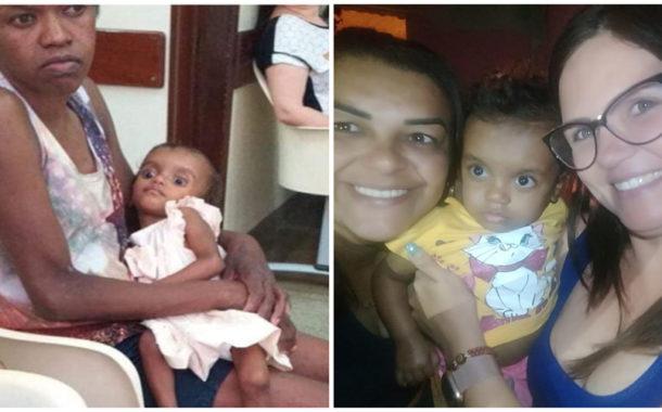 Mãe e filha saem do hospital com melhor aspecto e receberão donativos neste domingo